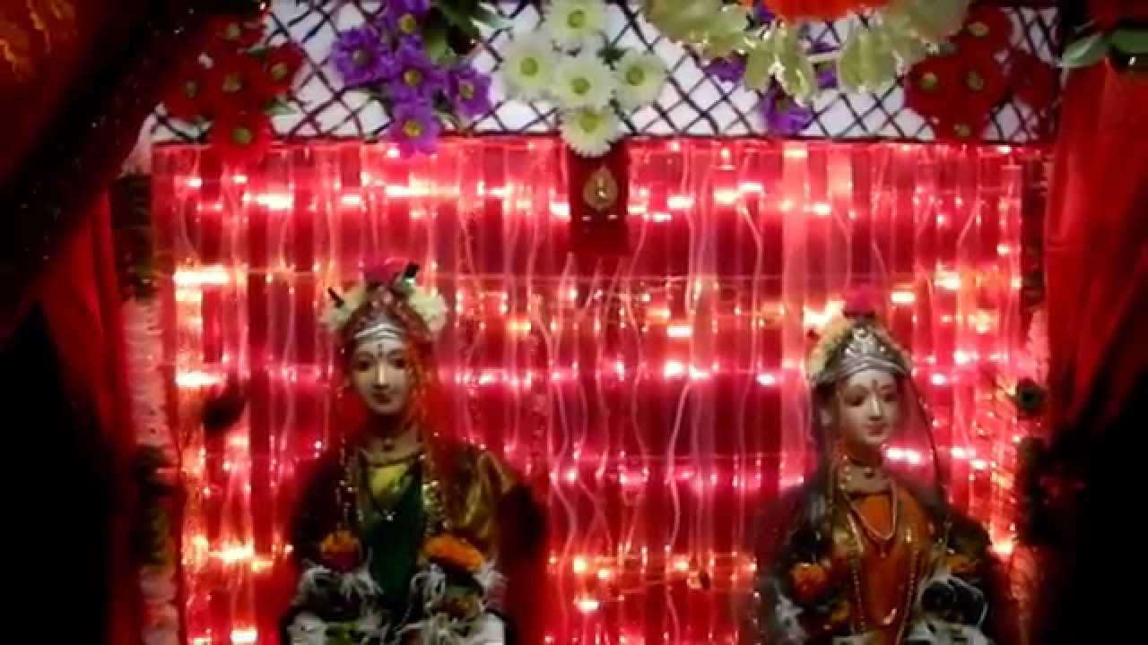 Gauri decoration home made youtube for Home decorations youtube