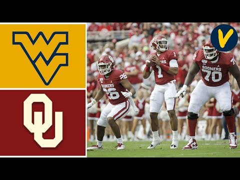 West Virginia vs #5 Oklahoma Highlights | Week 8 | College F