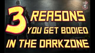 The Division   3 Reasons You Get Bodied In The DarkZone