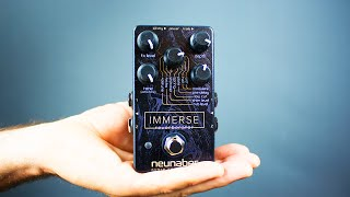 Ambient Guitar Gear Review - Neunaber Immerse Reverberator (Stereo Reverb) thumbnail
