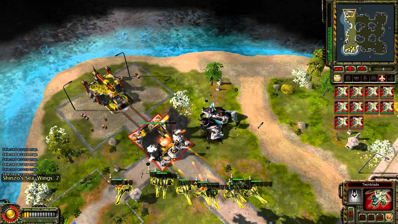 Red Alert 3 Uprising Commander S Challenge Two Sides To