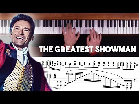 The Greatest Showman Advanced Piano Medley...