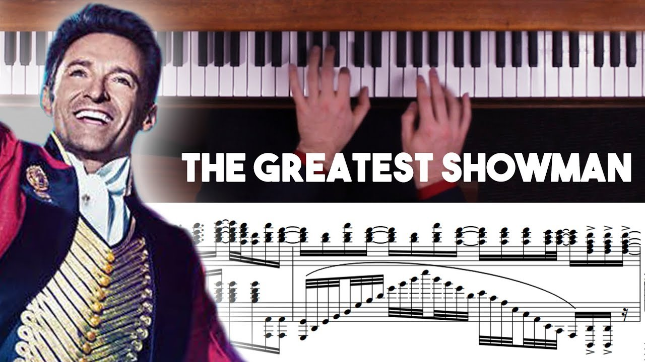 The Greatest Showman Advanced Piano Medley with Sheet