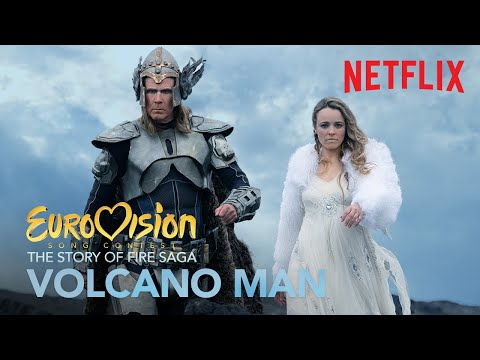 Volcano Man (Official Music Video) | EUROVISION SONG CONTEST: The Story Of Fire Saga | Netflix