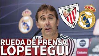 Athletic - Real Madrid | Rueda de prensa de Lopetegui |Diario AS