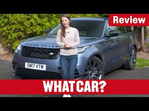 2018 Range Rover Velar review – Land Rover's new luxury SUV tested | What Car?
