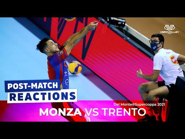 Massimo Eccheli post Trento vs Vero Volley Monza | Finale Supercoppa Italiana