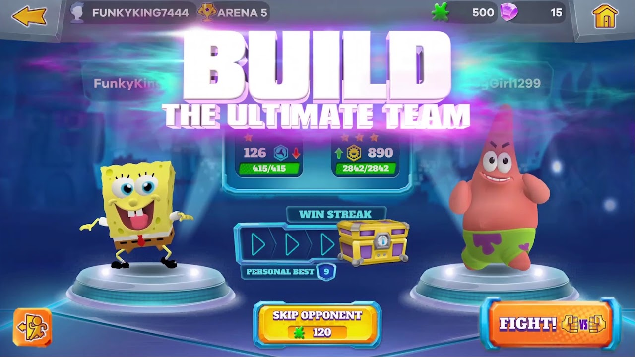 Nickelodeon's 'Super Brawl Universe' Enters the Mobile Ring