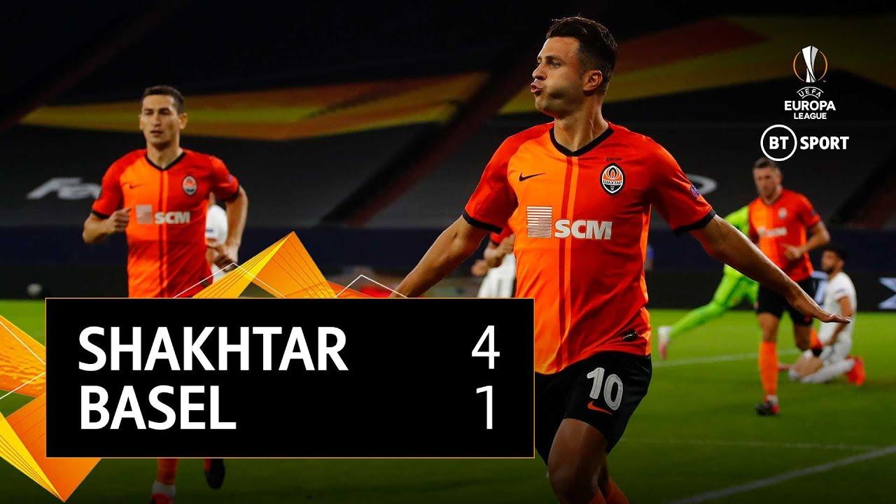 Shakhtar Donetsk v Basel (4-1)   UEFA Europa League Highlights