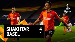 Shakhtar Donetsk v Basel (4-1) | UEFA Europa League Highlights