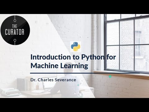 Introduction to PYTHON For Machine Learning – Introduction Chapter 1 Part 1