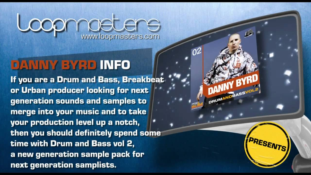 Drum & Bass Samples -  Danny Byrd Drum and Bass Vol. 2 #1