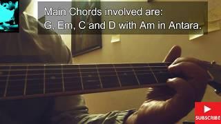 BANDEYA | ARIJIT SINGH | GUITAR LESSON / Guitarena Music