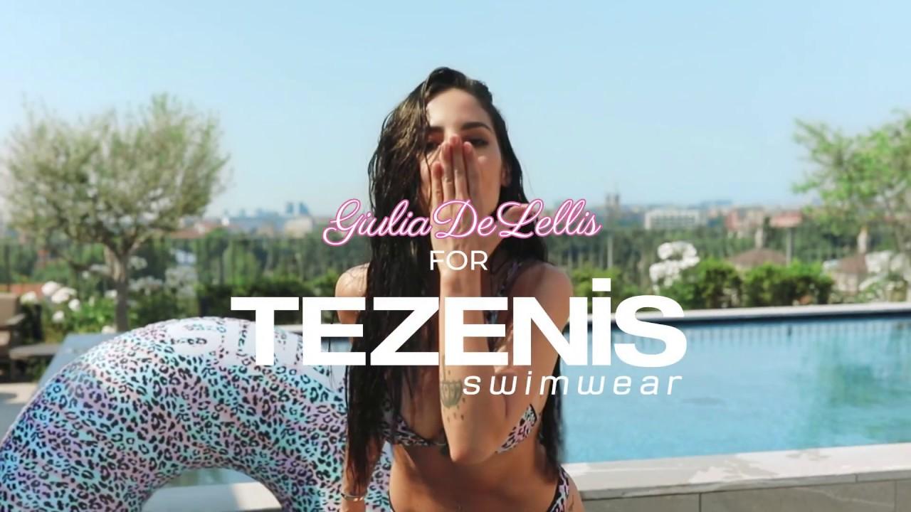 "Tezenis Swimwear w/ Giulia De Lellis - 15""O - YouTube"