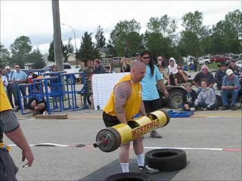 Winkler Strongman 2010 - Log Press