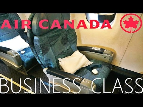 Air Canada BUSINESS CLASS Toronto to Seattle|Embraer 190
