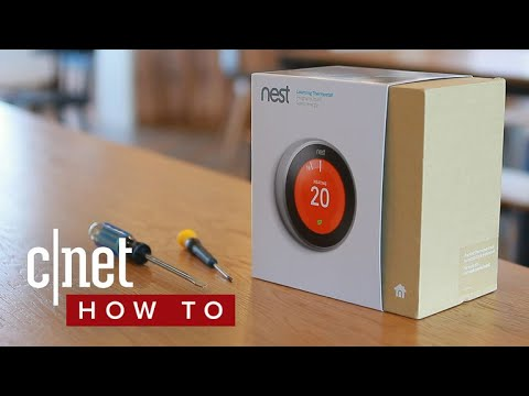 how to install the nest learning thermostat youtube. Black Bedroom Furniture Sets. Home Design Ideas