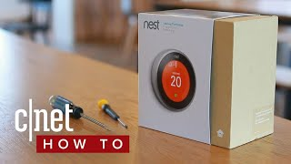 How to install the Nest Learning Thermostat