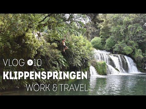 Klippenspringen | Work & Travel Neuseeland | Vlog 10