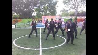 Gangnam Style Brimob Kepri Batam Pos Gokiel Abizzz