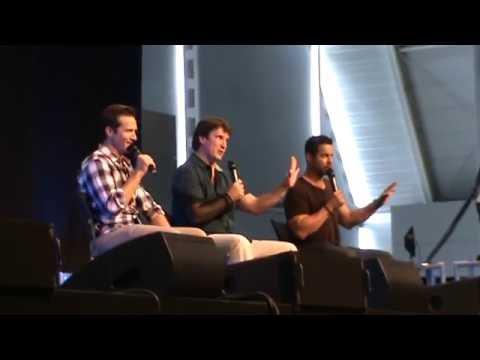Comic Con Germany. Nathan Fillion, Seamus Dever, Jon Huertas - Part 2