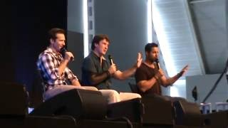 Comic Con Germany. Nathan Fillion, Seamus Dever, Jon Huertas - Part 2
