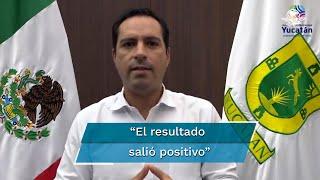 """El gobernador Mauricio Vila señaló que """"afortunadamente"""" la prueba realizada a su esposa y sus hijos salió negativa"""