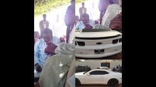 Regardez la voiture de luxe du prince de Baye Karim Mbacké, Serigne Modou Mbacké