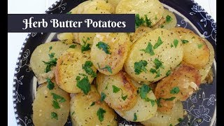 Herb Butter Potatoes  Cuckoo Multi-Cooker Electric Pressure Cooker  Amy Learns to Cook