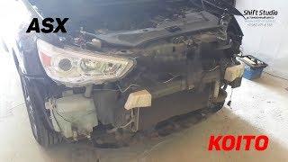 Замена Линз Mitsubishi ASX