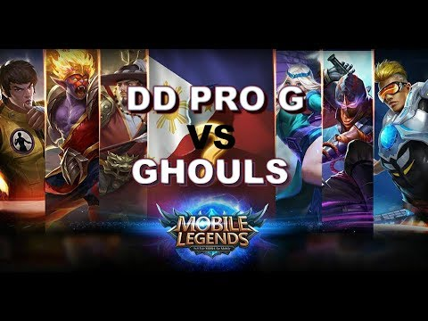 DD PRO G vs GHOULS - MSC 2018 - MOBILE LEGENDS - Philippines vs MYANMAR