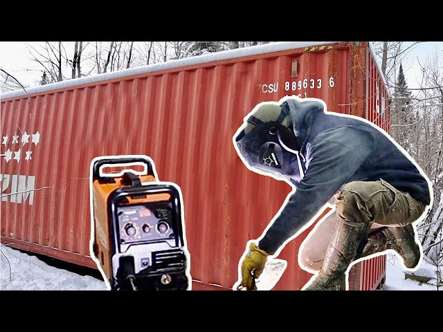 It's That TIME! Getting Ready to Start the Shipping Container OFF-Grid Cabin Build