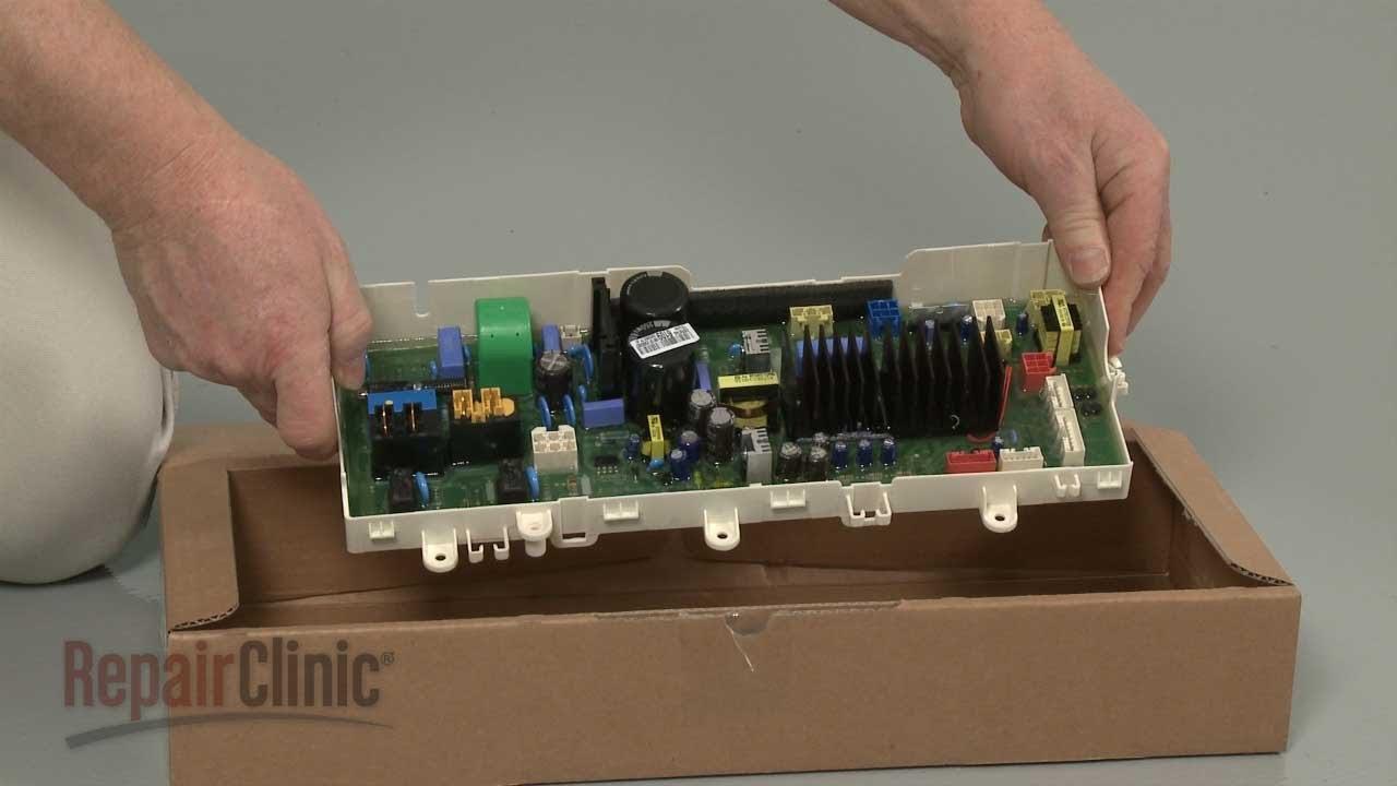 LG TopLoad Washer Replace Main Control Board #EBR67466109  YouTube