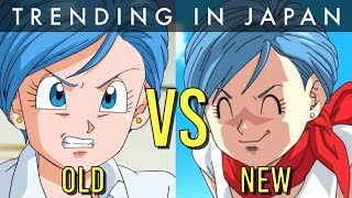 Bulma's NEW Voice COMPARED (Dragon Ball Super)