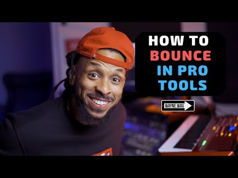 How to Bounce In Pro Tools | Home Recording Basics