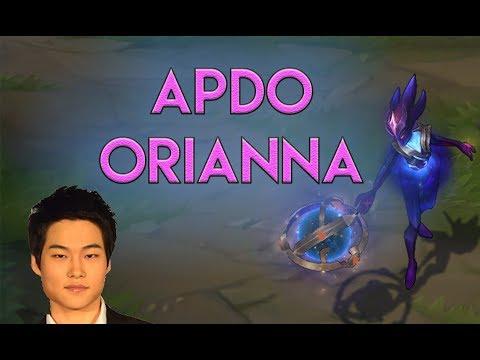 KOREAN RANK 1 APDO | Orianna review