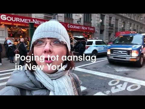 'De paniek was enorm': mislukte aanslag in centrum New York - RTL NIEUWS