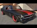 1969 Chevrolet Nova SS-related by Pontiac Ventura
