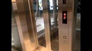 Talking Mitsubishi Elevator @Dubai Metro, Burj Khalifa/Dubai Mall Station, United Arab Emirates