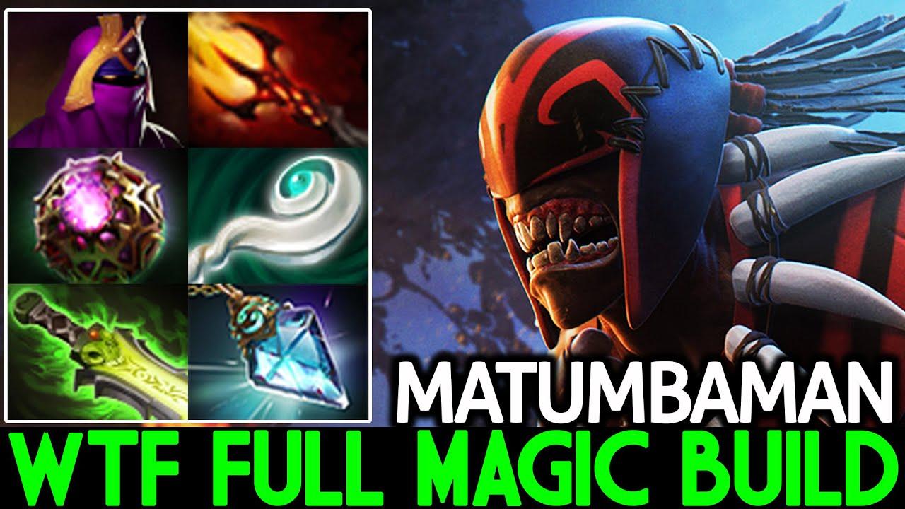MATUMBAMAN [Bloodseeker] Instant Kill Dagon 5 Full Magic Build Dota 2