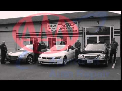 European Auto Repair in Everett ~ GP Automotive, Everett, WA ~ BMW, Mercedes, Audi, Jaguar