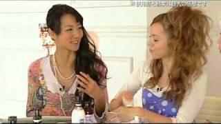 イタリアオーガニックコスメ、「OM」アイコレ放送映像