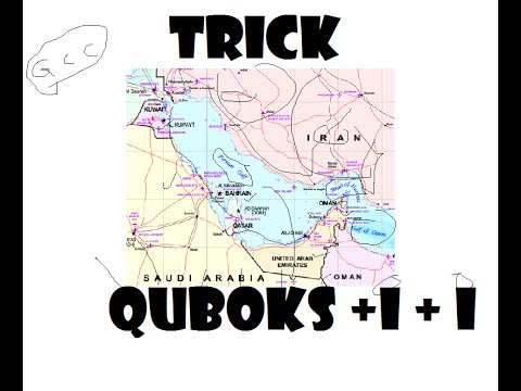 Trick to remember member Countries around PERSIAN GULF and GCC