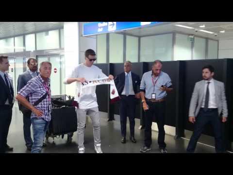 Szczesny arriva a Fiumicino