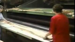 How wood veneer is made...