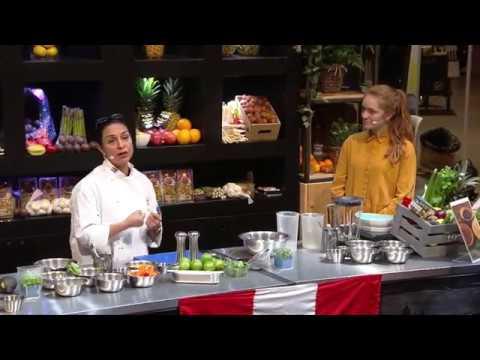 APS17 - Chef Demo - Peruvian Ceviche Primaveral & Peruvian Seabass Ceviche