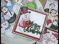 Card Making Magic Christmas Collection - Snowman