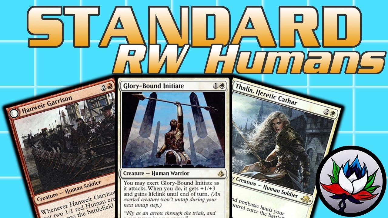 MTG magic the gathering R//W Warrior Deck