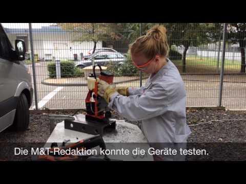 9.2016:  Fein stellt neue Werkzeuge für Metaller vor
