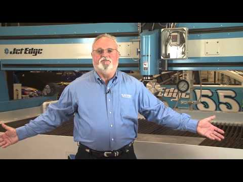 Jet Edge Waterjet Systems Corporate Video